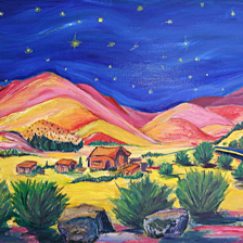 """Madrid Moonshine"" Sold, Santa Fe New Mexico title="